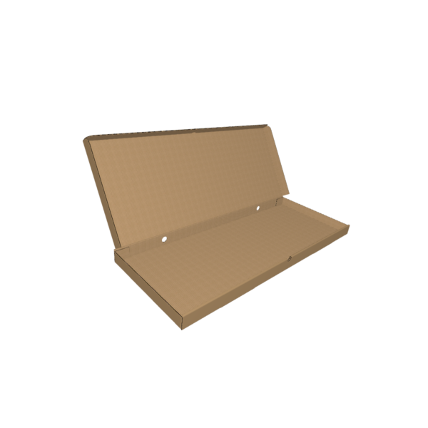 Коробка для пиццы из гофрокартона fefco 426-CUTCNC.RU
