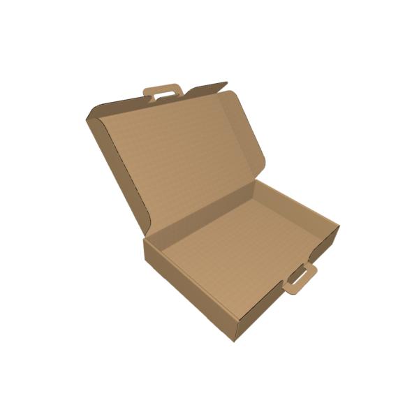 Самосборная коробка чемоданчик из гофрокартона fefco 421. CUTCNC.RU