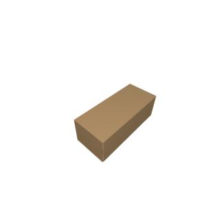 Самосборная коробка с окном из картона fefco 471-CUTCNC.RU